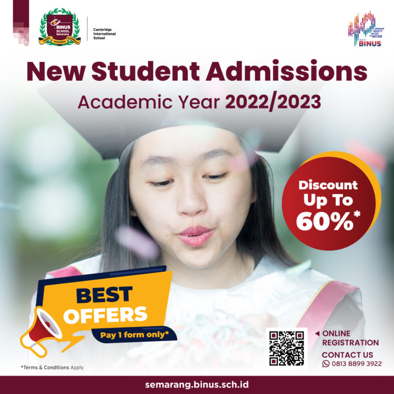 New Student Admissions for Academic Year 2022/2023 is Now Available!