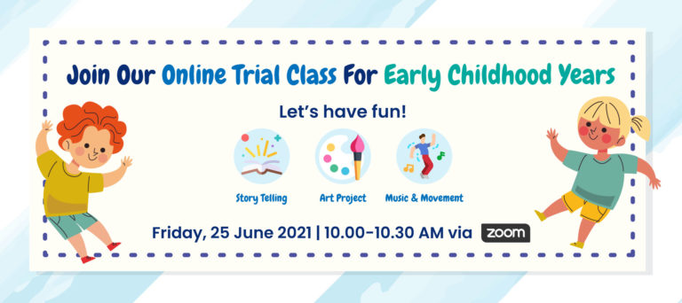 One Day - Online Trial Class For Early Childhood Years