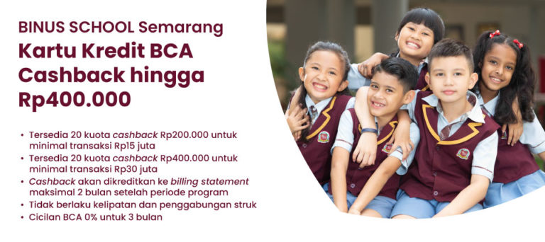 Attention to BCA Credit Card Holders!